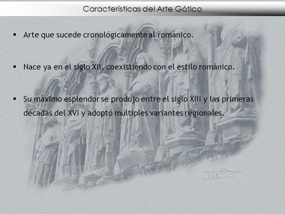 Características del Arte Gótico