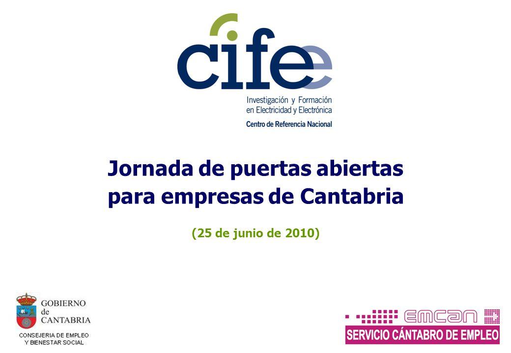 Jornada de puertas abiertas para empresas de Cantabria