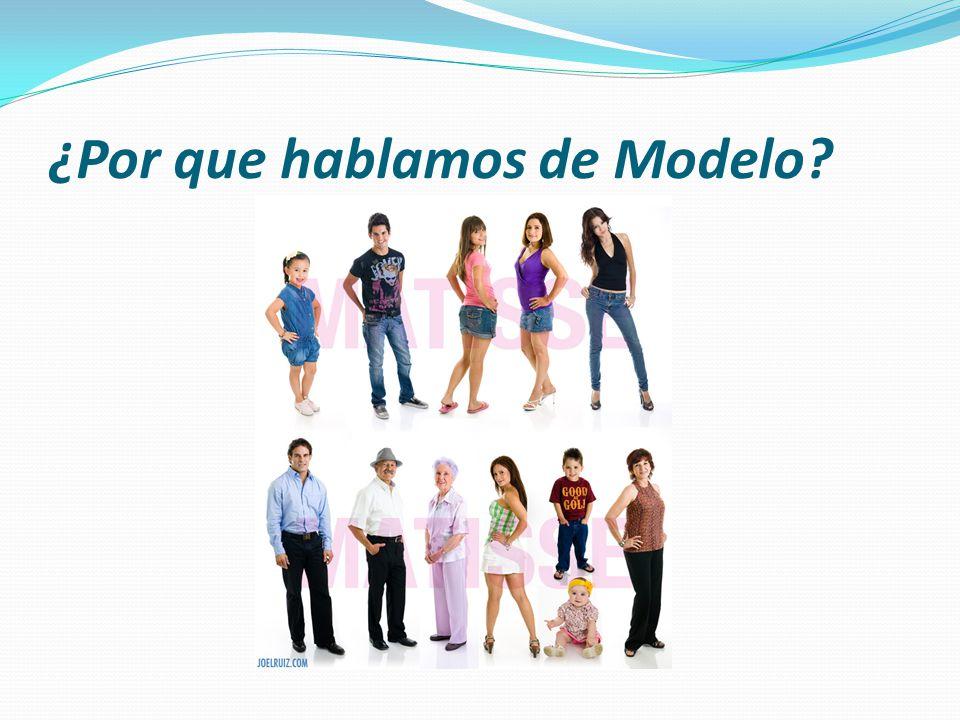¿Por que hablamos de Modelo