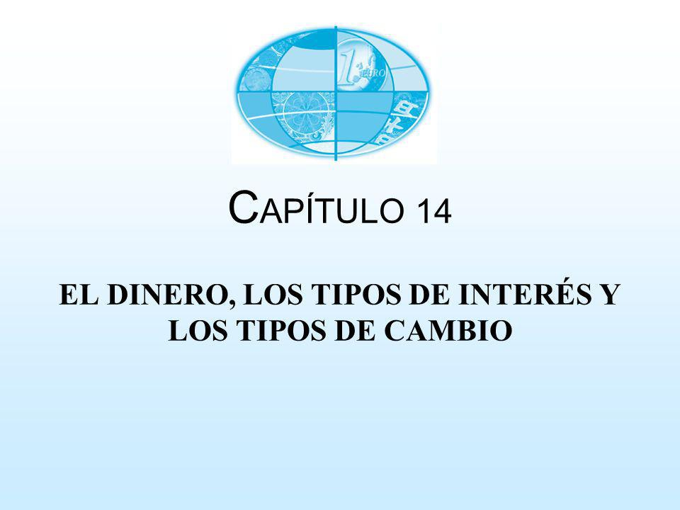 CAPÍTULO 14 EL DINERO, LOS TIPOS DE INTERÉS Y LOS TIPOS DE CAMBIO