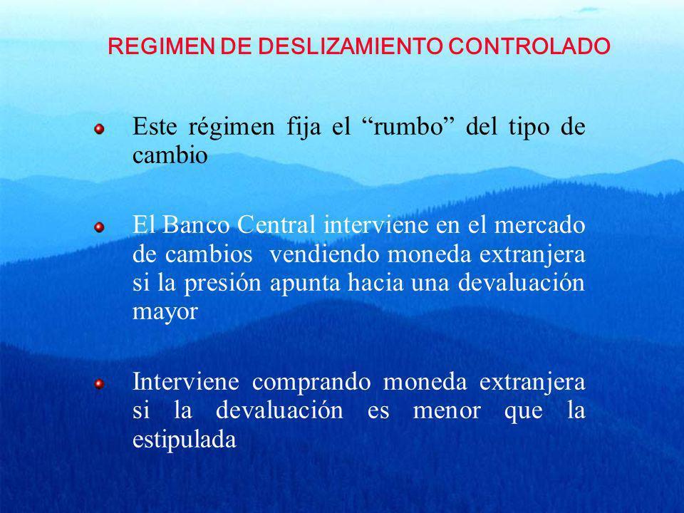 REGIMEN DE DESLIZAMIENTO CONTROLADO
