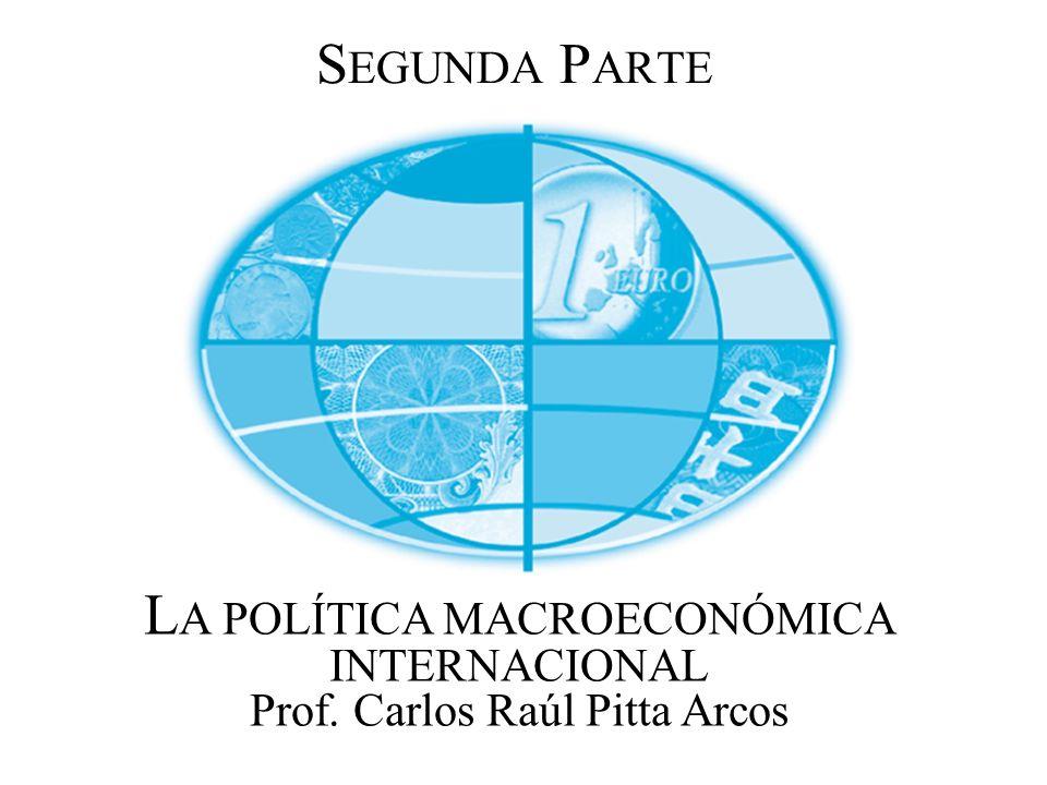 LA POLÍTICA MACROECONÓMICA INTERNACIONAL