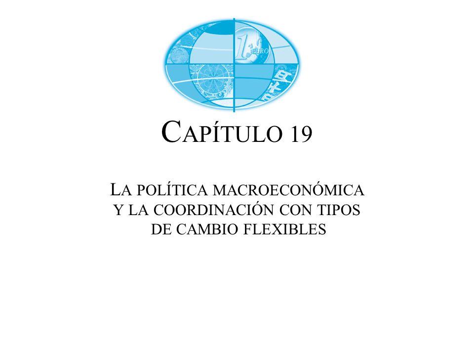 CAPÍTULO 19 LA POLÍTICA MACROECONÓMICA Y LA COORDINACIÓN CON TIPOS DE CAMBIO FLEXIBLES