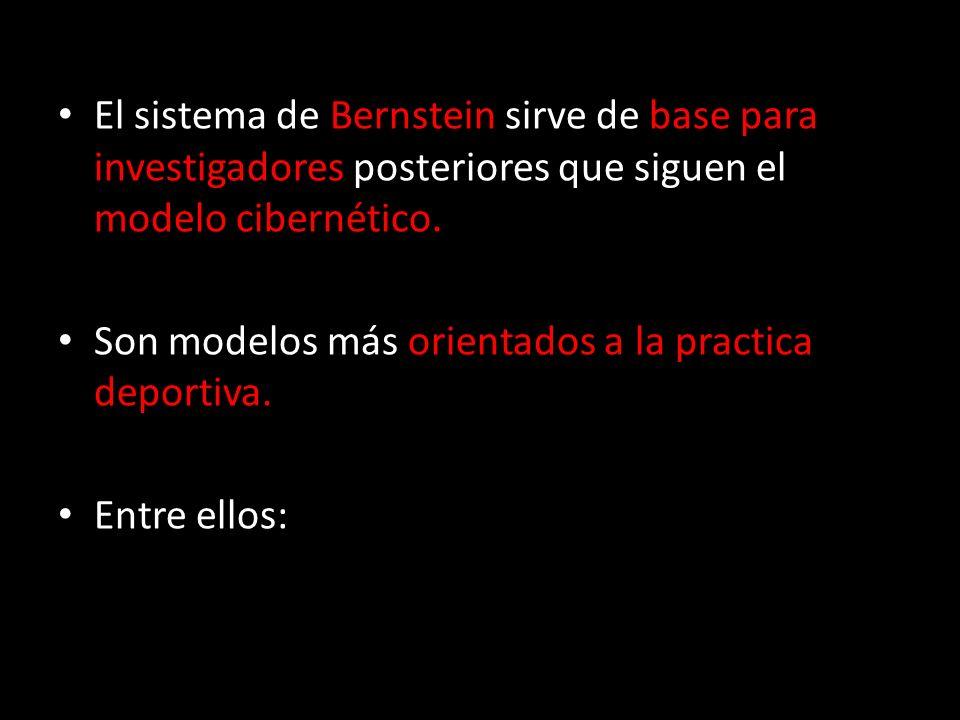 El sistema de Bernstein sirve de base para investigadores posteriores que siguen el modelo cibernético.