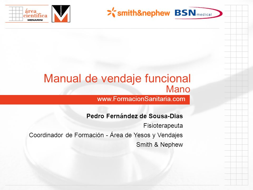 Manual de vendaje funcional