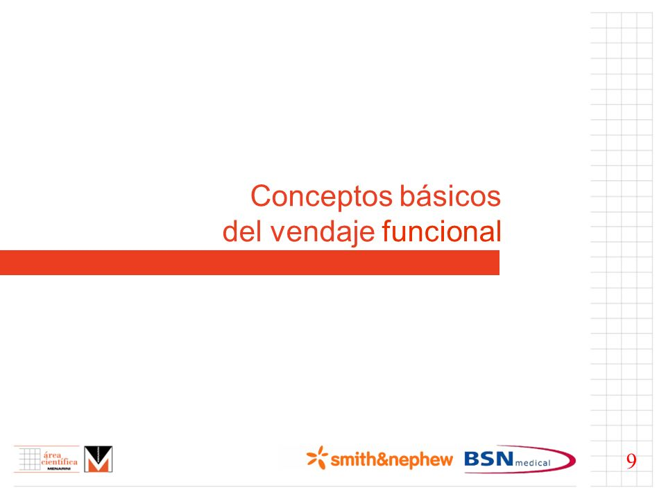 Conceptos básicos del vendaje funcional 9