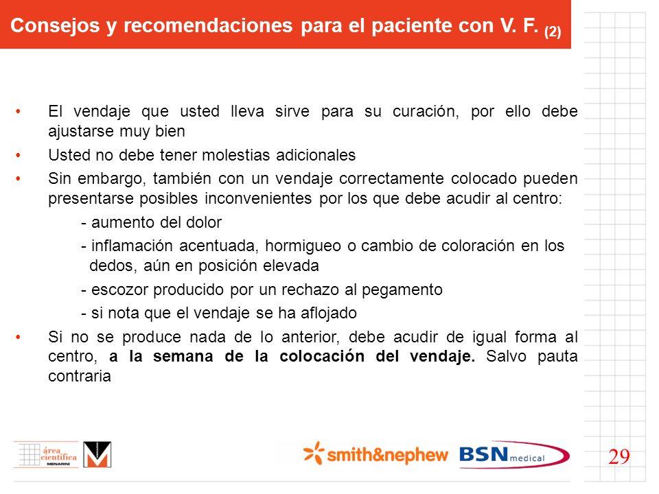 Consejos y recomendaciones para el paciente con V. F. (2)
