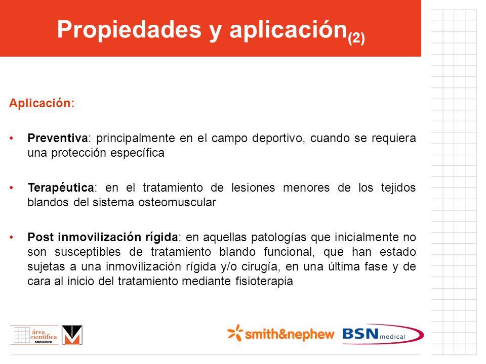 Propiedades y aplicación(2)