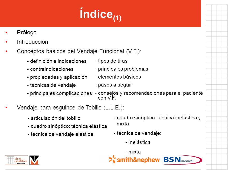 Índice(1) Prólogo Introducción