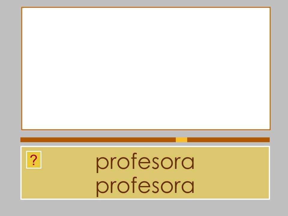 profesora profesora