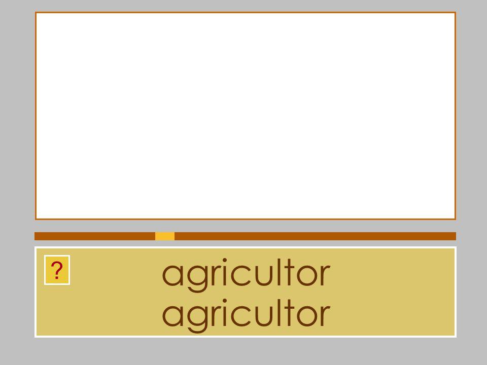 agricultor agricultor