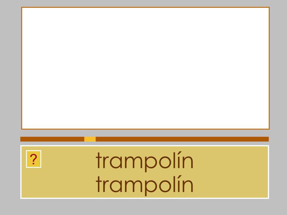trampolín trampolín
