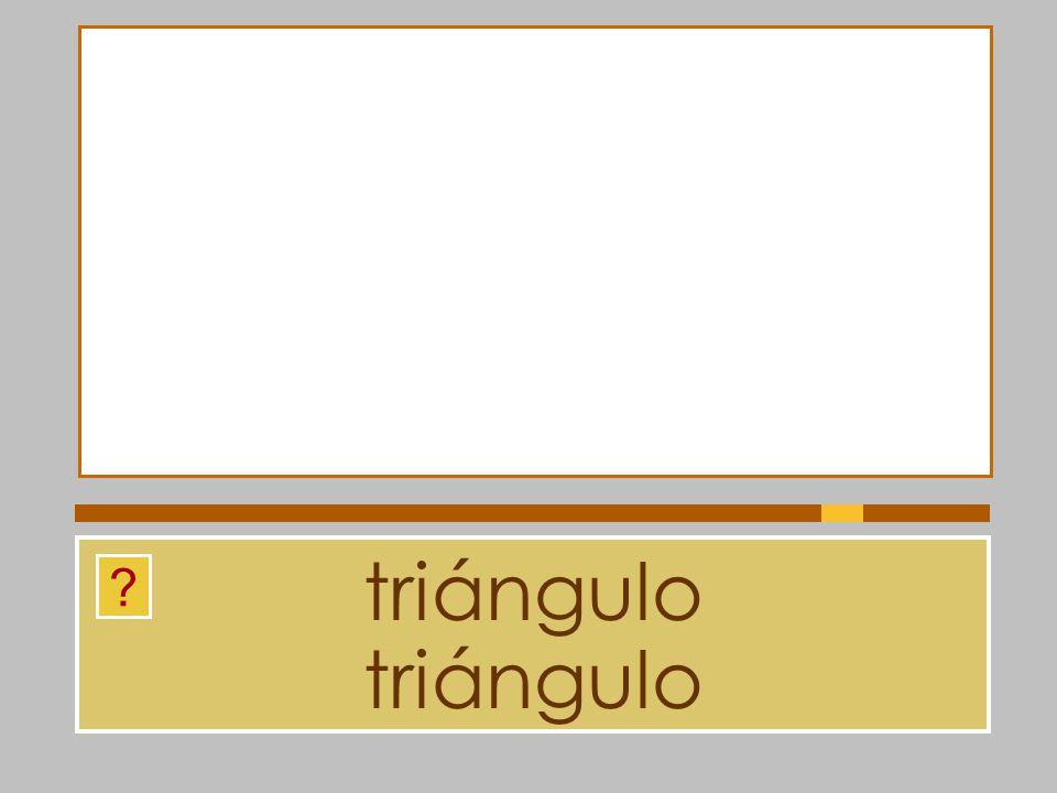 triángulo triángulo