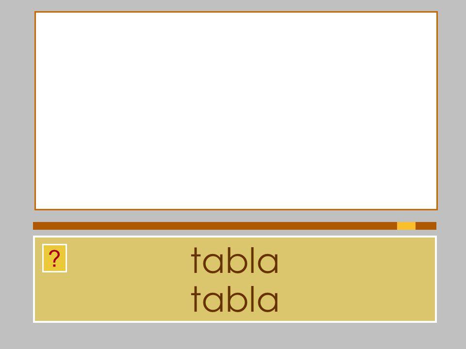 tabla tabla