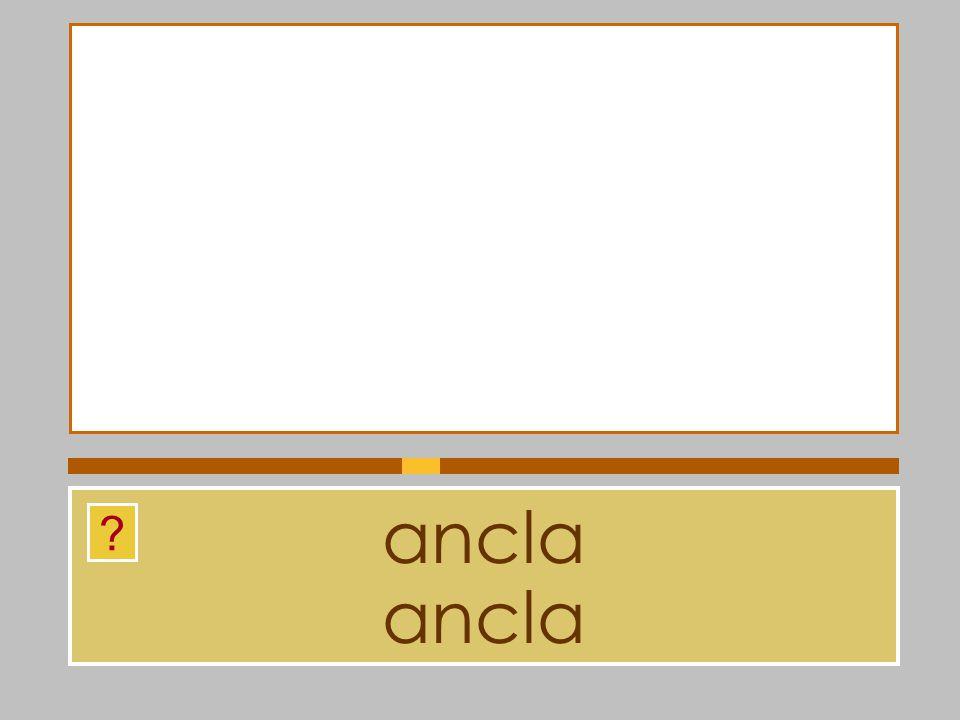 ancla ancla