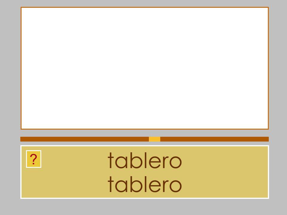 tablero tablero