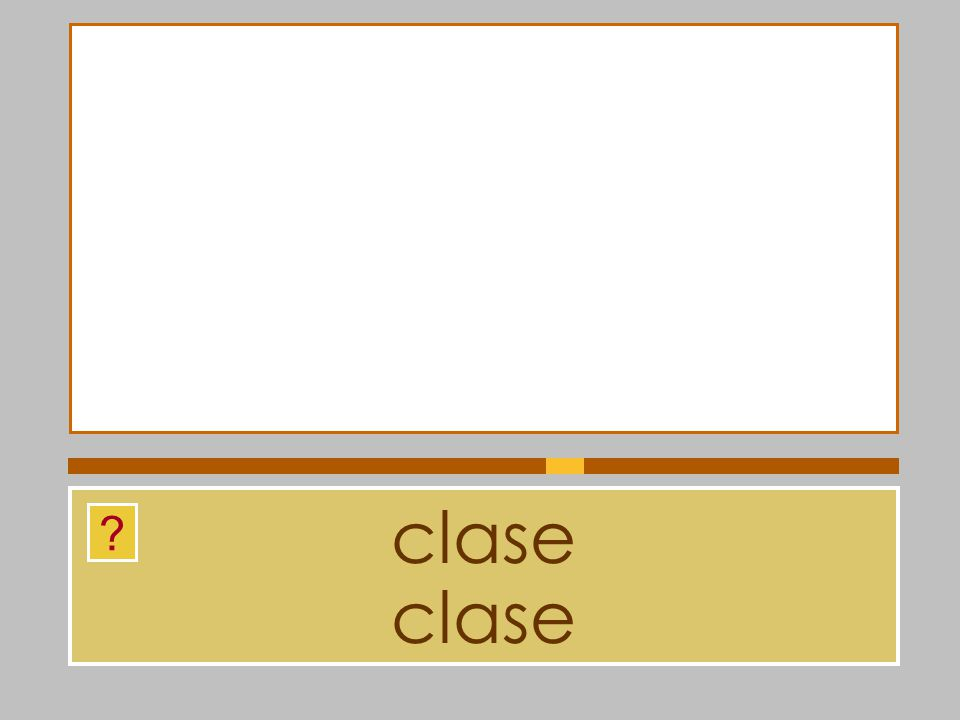 clase clase