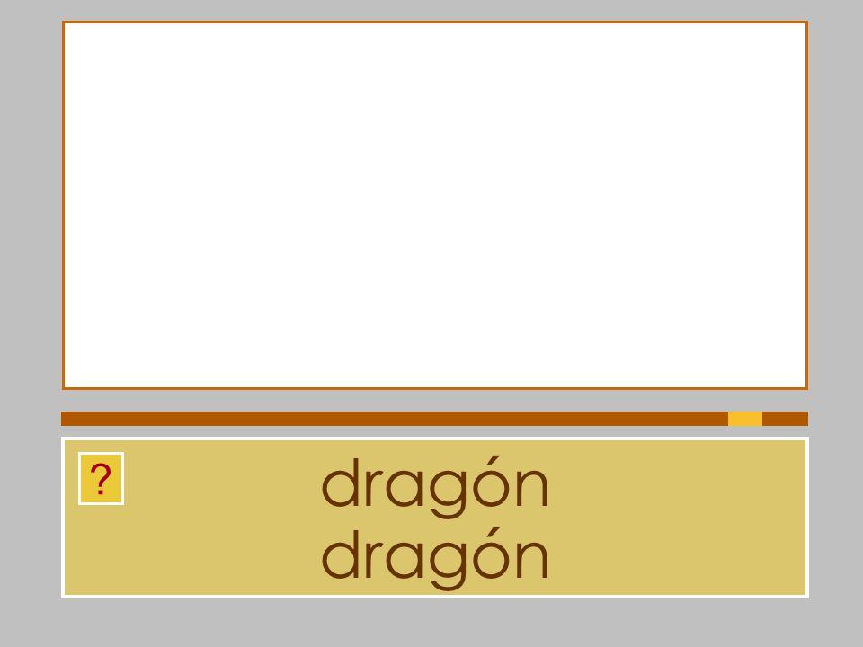 dragón dragón