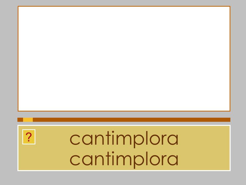 cantimplora cantimplora