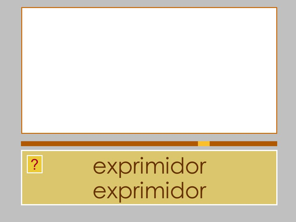 exprimidor exprimidor