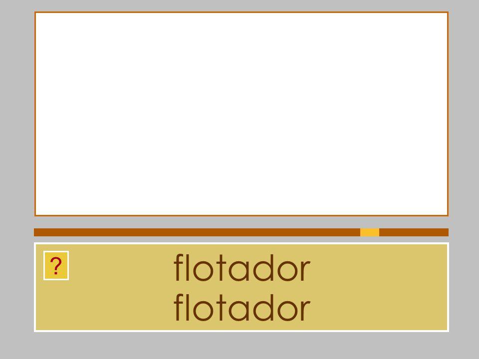 flotador flotador