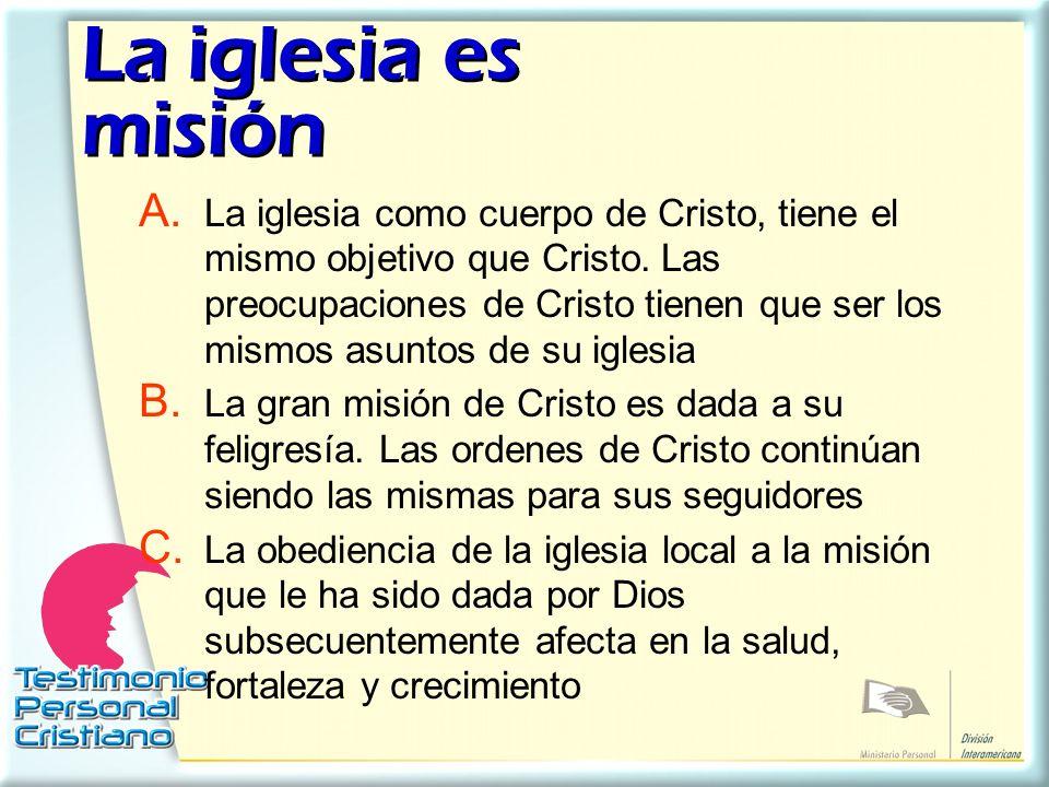 La iglesia es misión