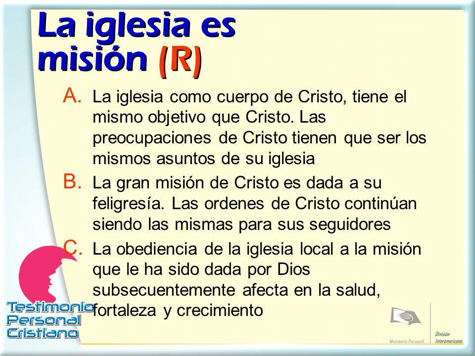 La iglesia es misión (R)
