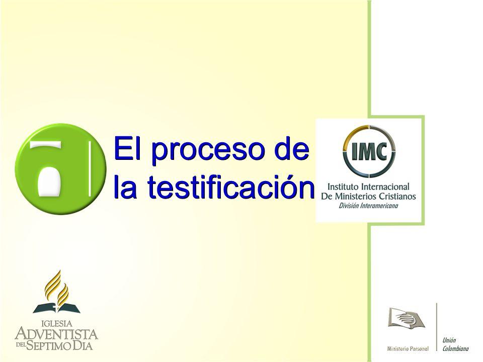 El proceso de la testificación