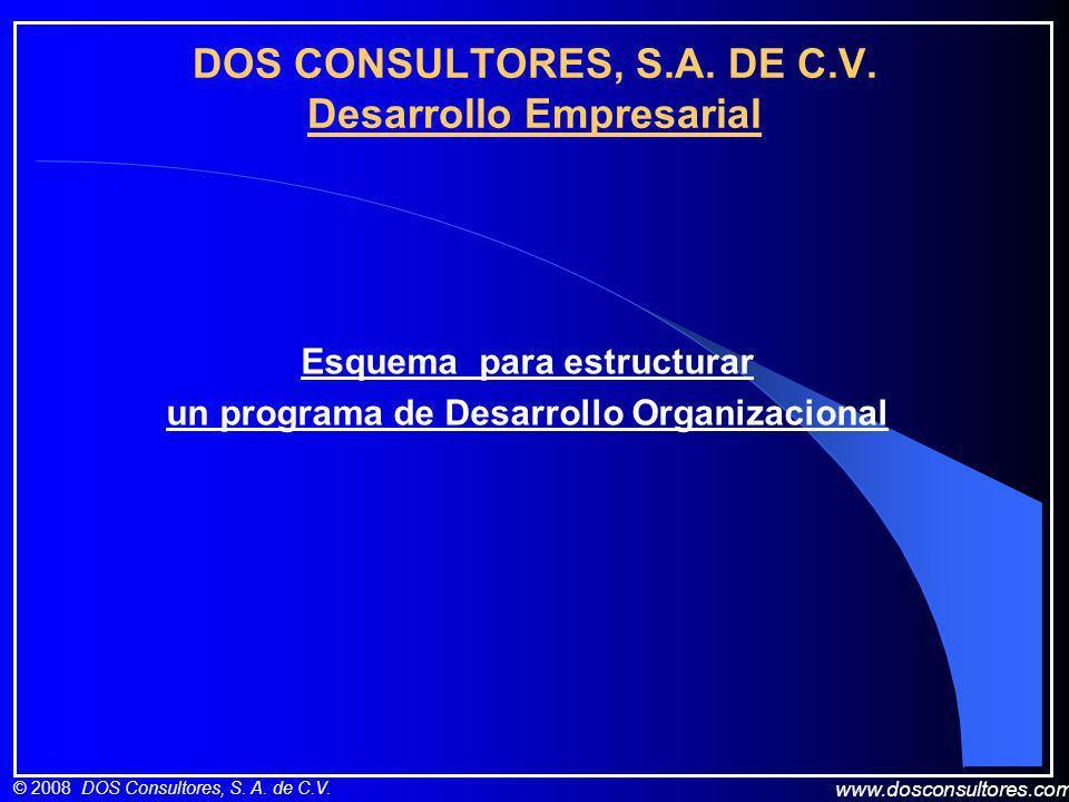 DOS CONSULTORES, S.A. DE C.V. Desarrollo Empresarial