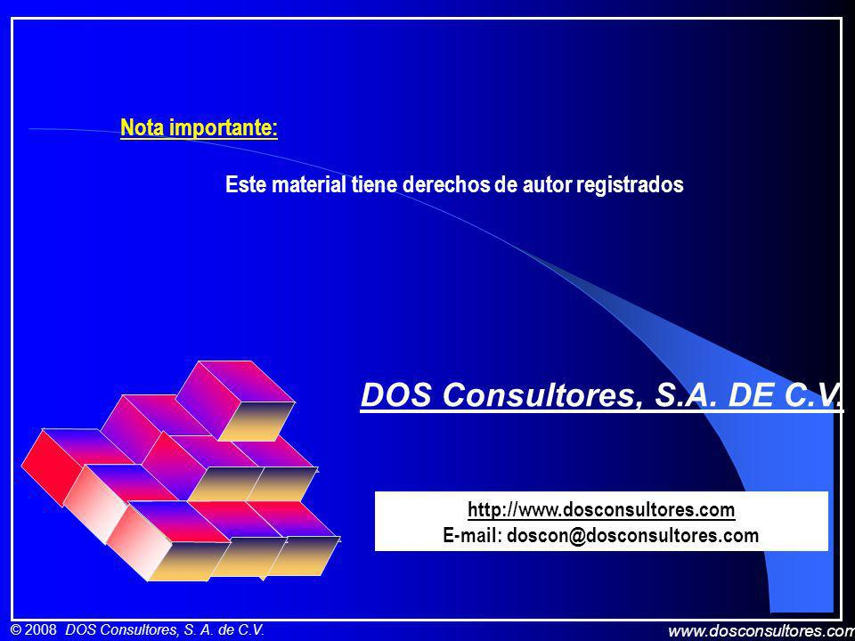 DOS Consultores, S.A. DE C.V.