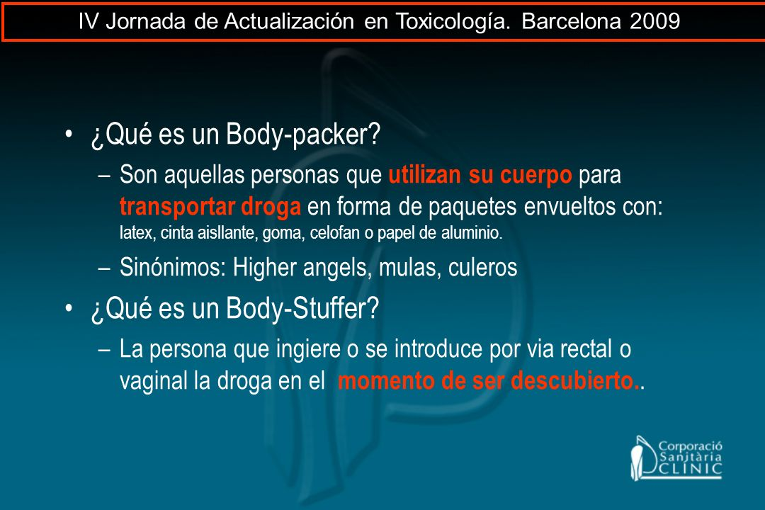 ¿Qué es un Body-Stuffer