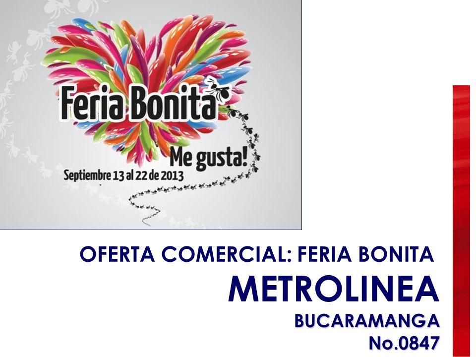 OFERTA COMERCIAL: FERIA BONITA