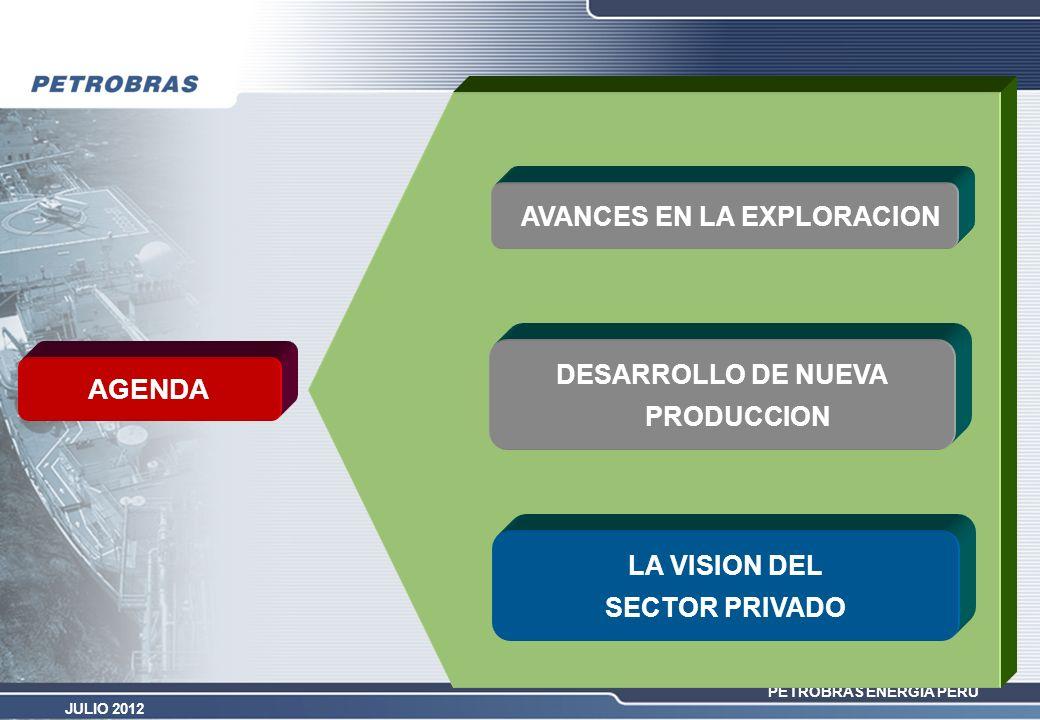 AVANCES EN LA EXPLORACION DESARROLLO DE NUEVA PRODUCCION