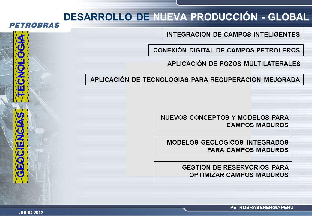 DESARROLLO DE NUEVA PRODUCCIÓN - GLOBAL