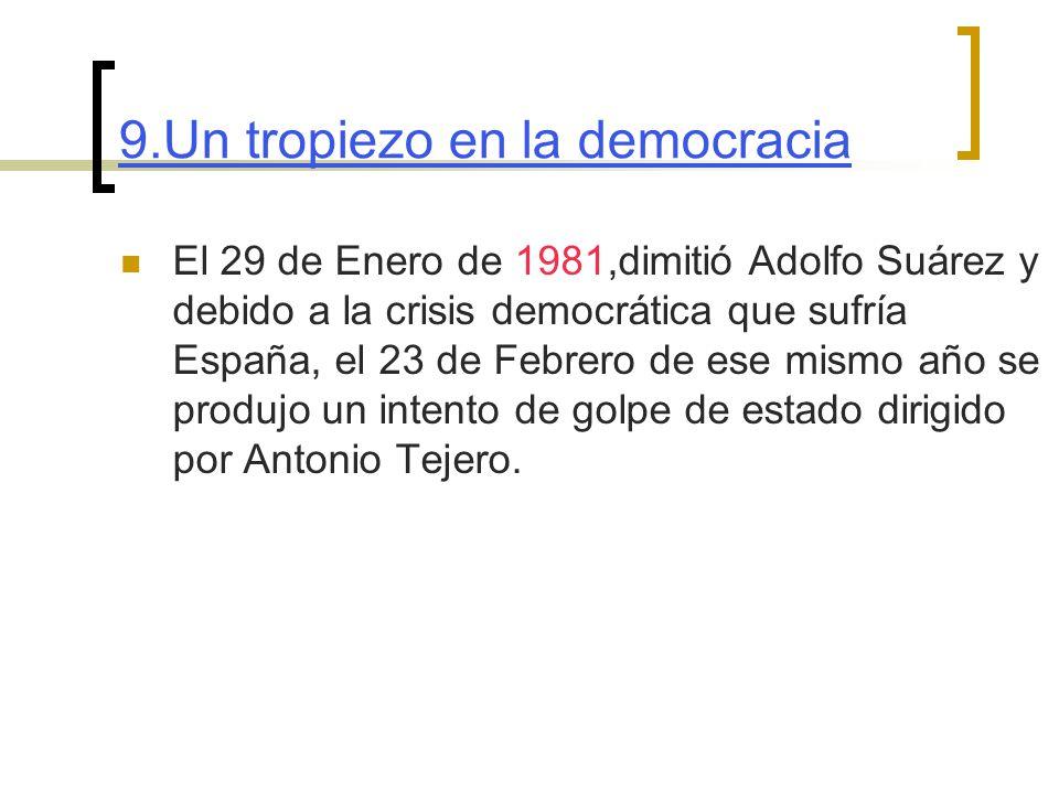 9.Un tropiezo en la democracia