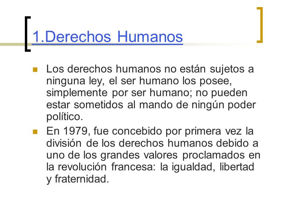 1.Derechos Humanos