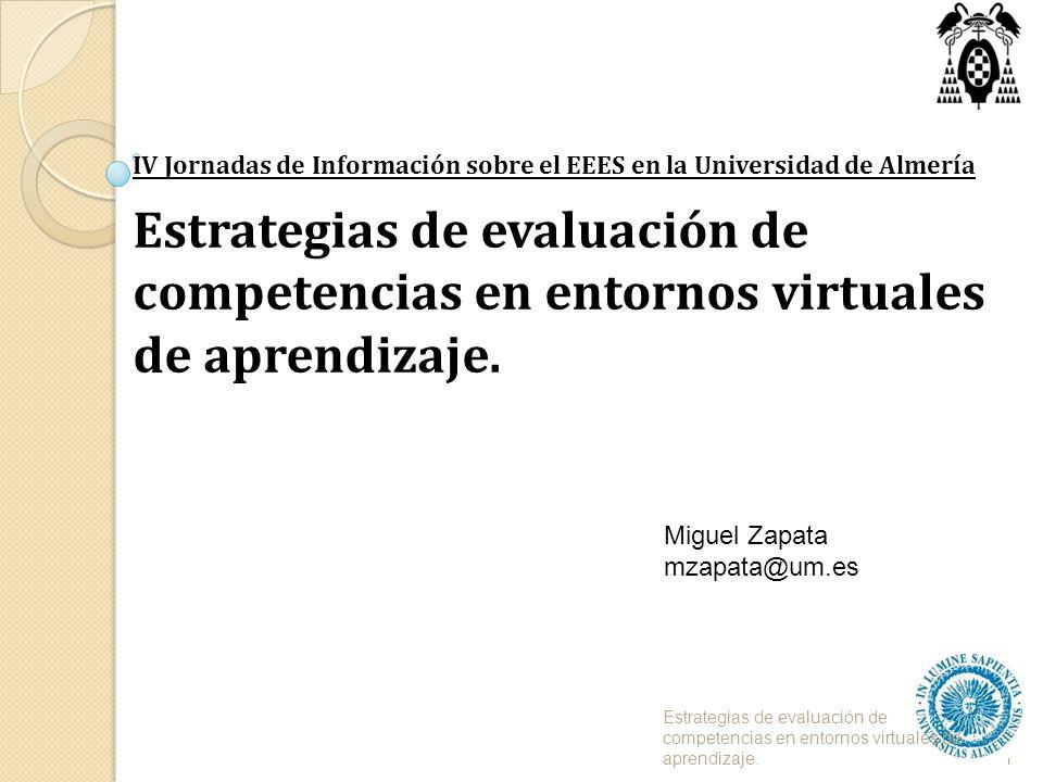 IV Jornadas de Información sobre el EEES en la Universidad de Almería