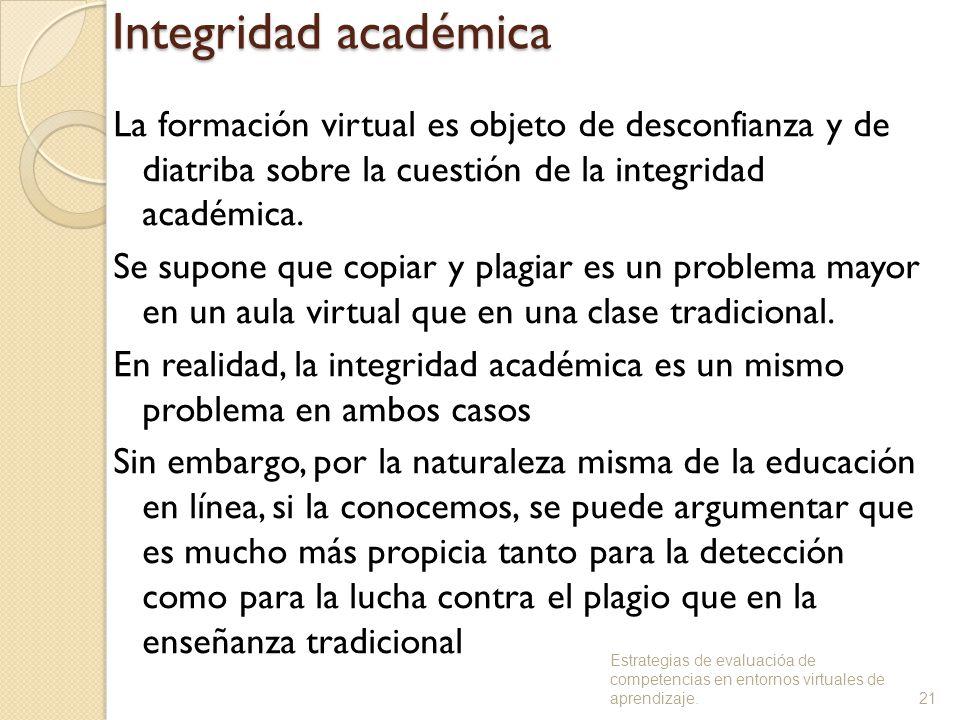Integridad académica