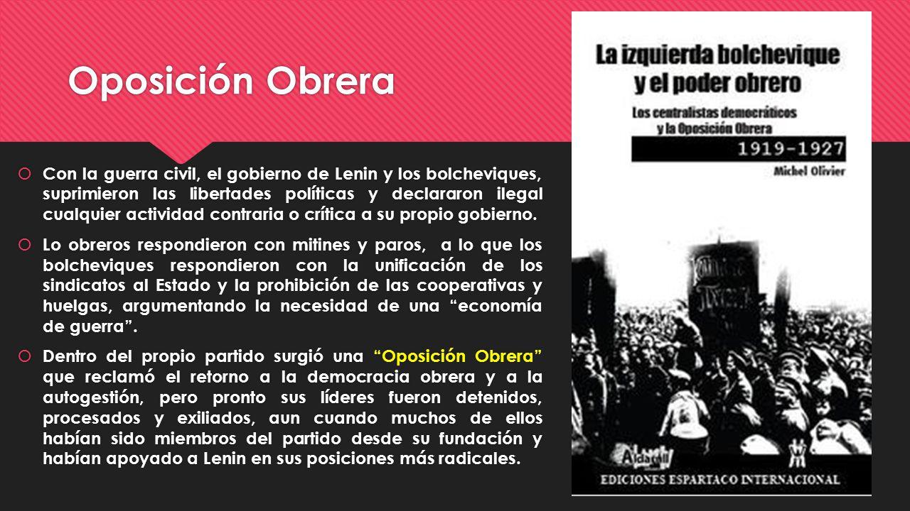 Oposición Obrera