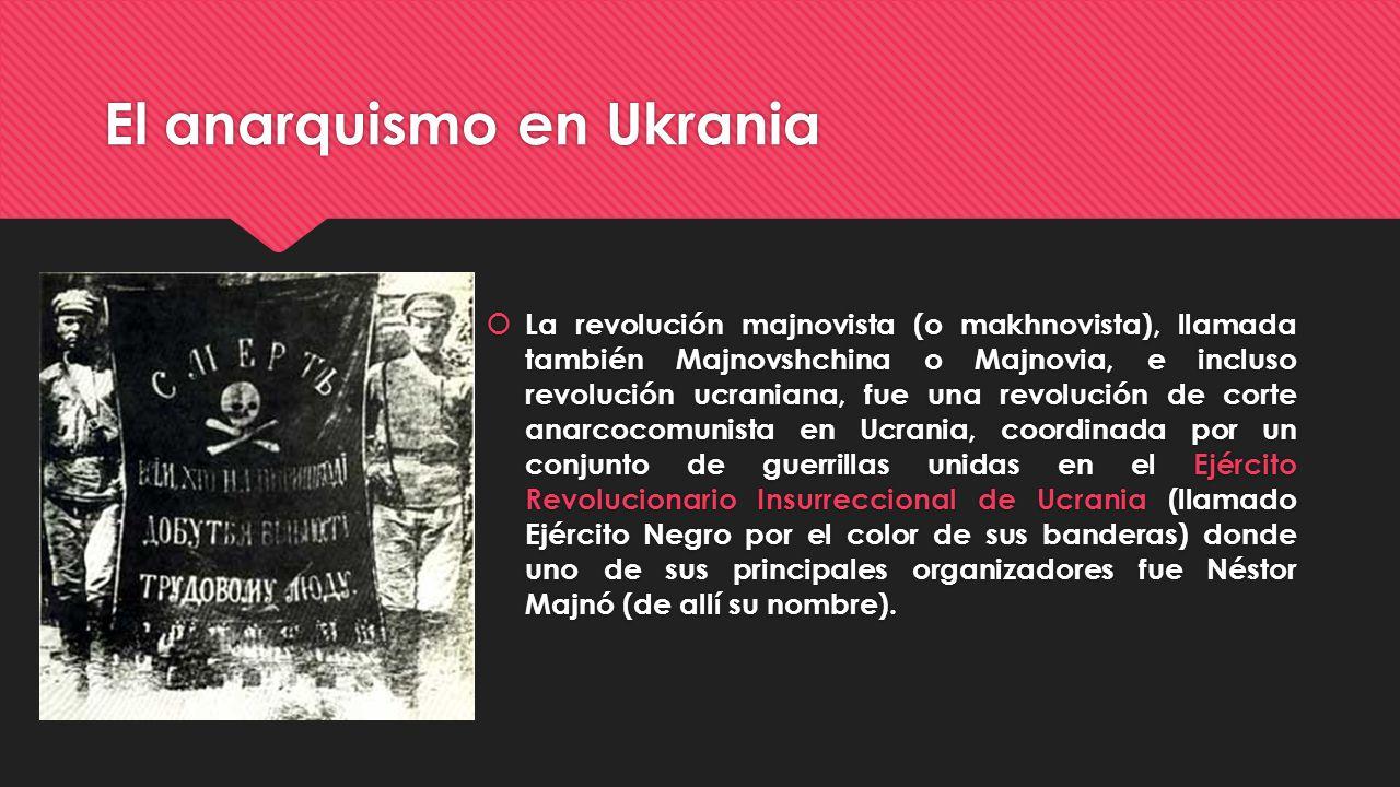 El anarquismo en Ukrania