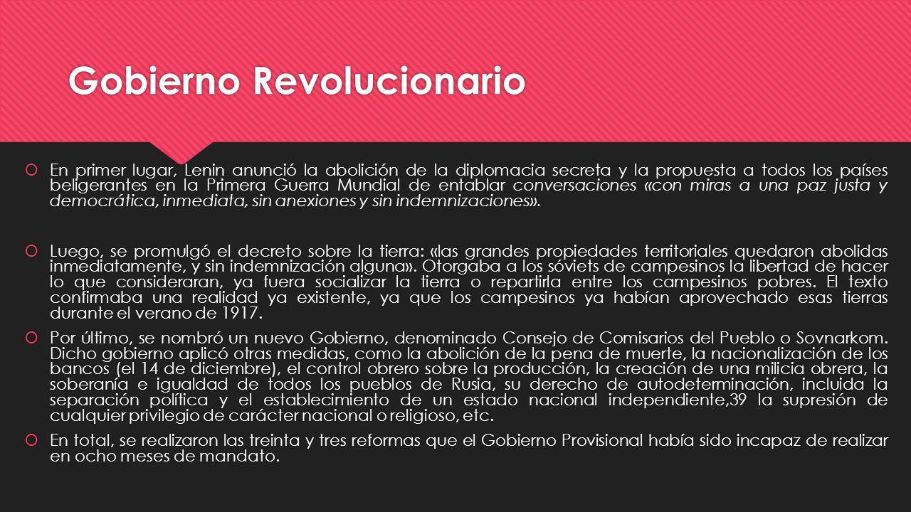 Gobierno Revolucionario