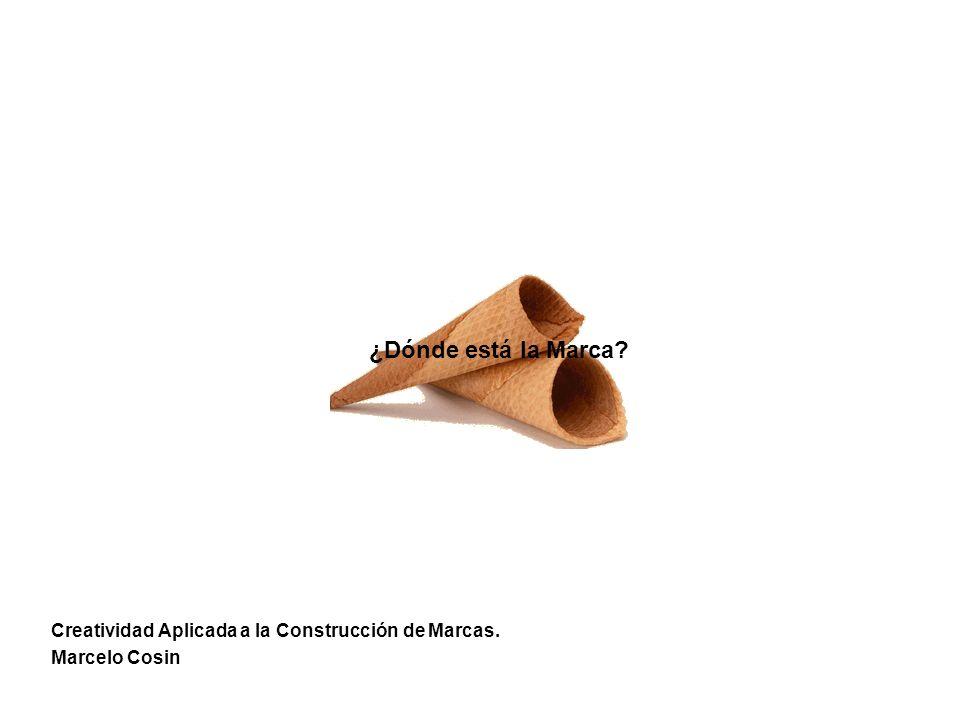 ¿Dónde está la Marca Creatividad Aplicada a la Construcción de Marcas. Marcelo Cosin
