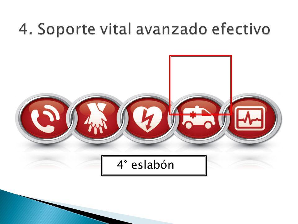 4. Soporte vital avanzado efectivo