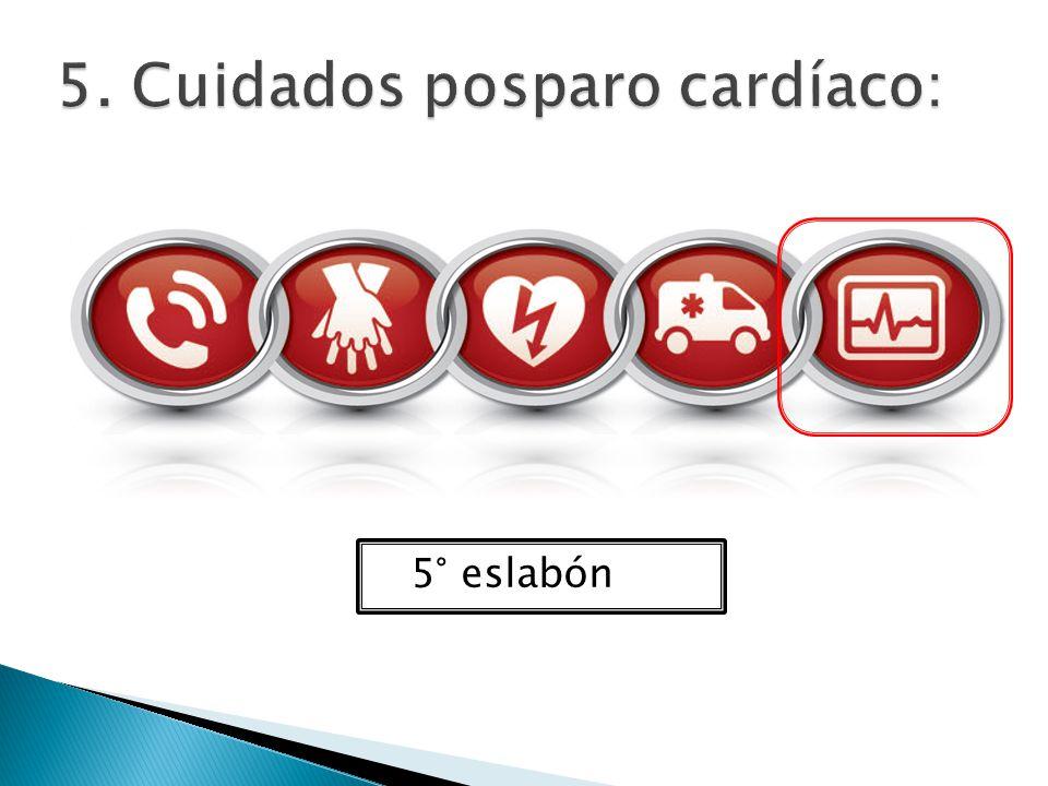 5. Cuidados posparo cardíaco: