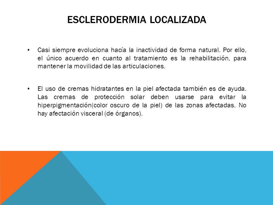 ESCLERODERMIA LOCALIZADA