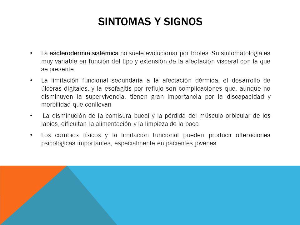 Sintomas y signos