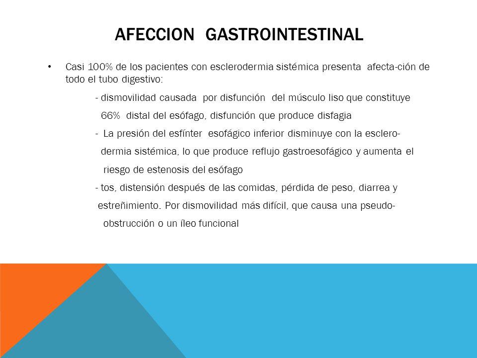 Afeccion gastrointestinal