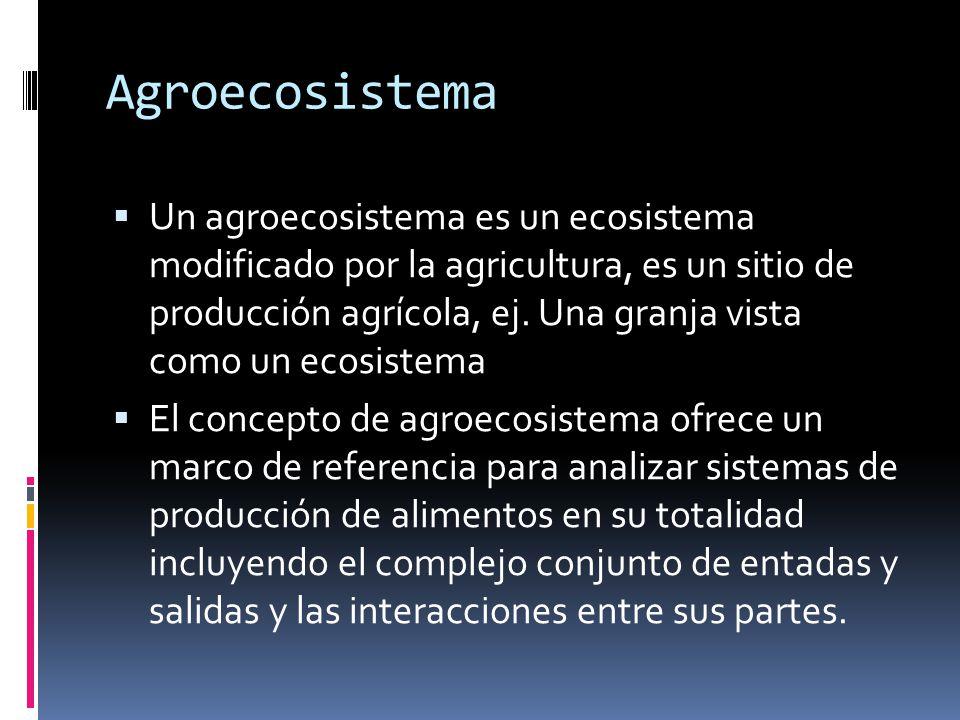 Agroecosistema