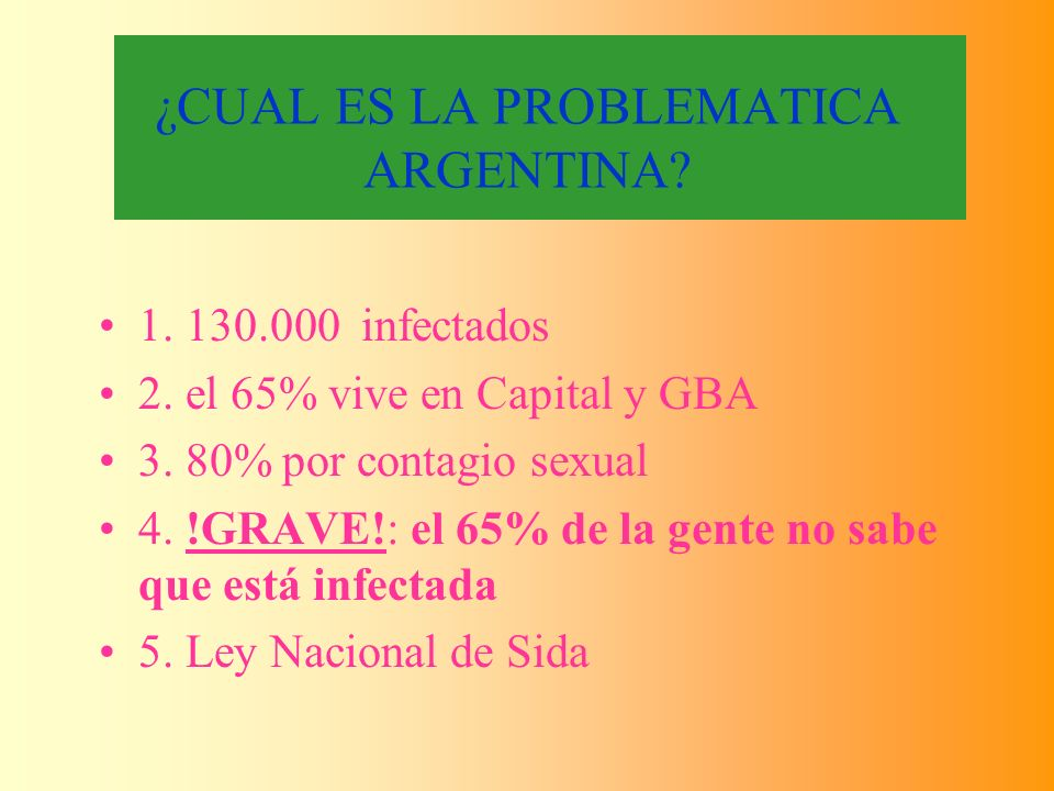 ¿CUAL ES LA PROBLEMATICA ARGENTINA