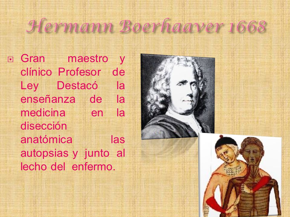Hermann Boerhaaver 1668